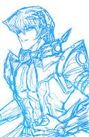 [Rough Sketch] Kaiba by Ycajal
