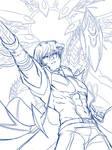 [Linework] Kaiba's Birthday!