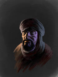 beard and turban by SamInabinet