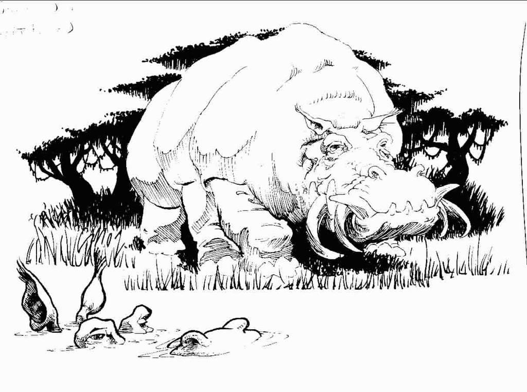 Great Boar by SamInabinet