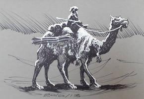 Inktober2020 13 Dune