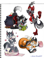 Lets toon it up -gifts- by Loihtuja