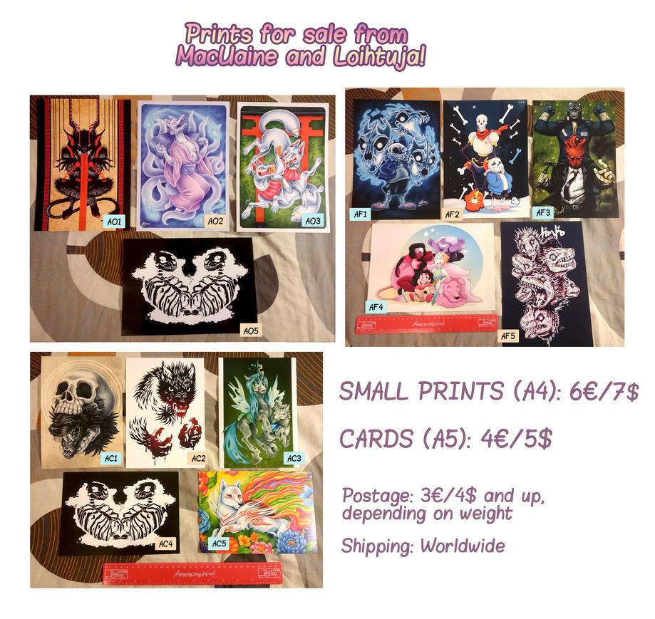 Small Prints Cards v02 by Loihtuja