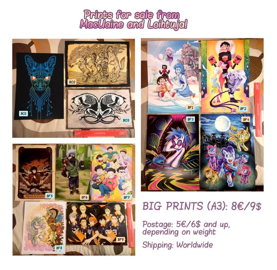 Big Prints Cards v02 by Loihtuja