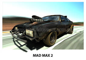 MAD MAX 2 INTERCEPTOR by waynedowsent