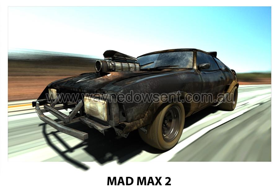 mad max 2 interceptor by waynedowsent on deviantart. Black Bedroom Furniture Sets. Home Design Ideas