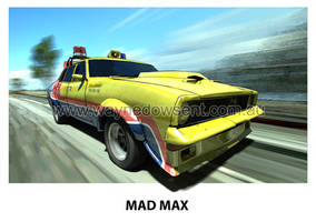 MAD MAX THE DARK ONE by waynedowsent