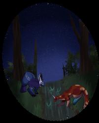 Night Gathering 2 by y0g3n