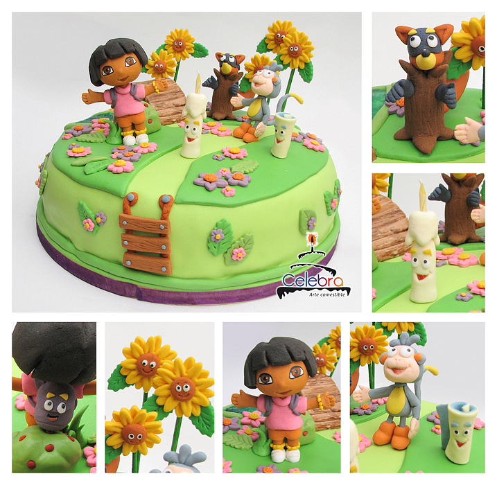 Dora the Explorer Cake by TheNonexistent on DeviantArt
