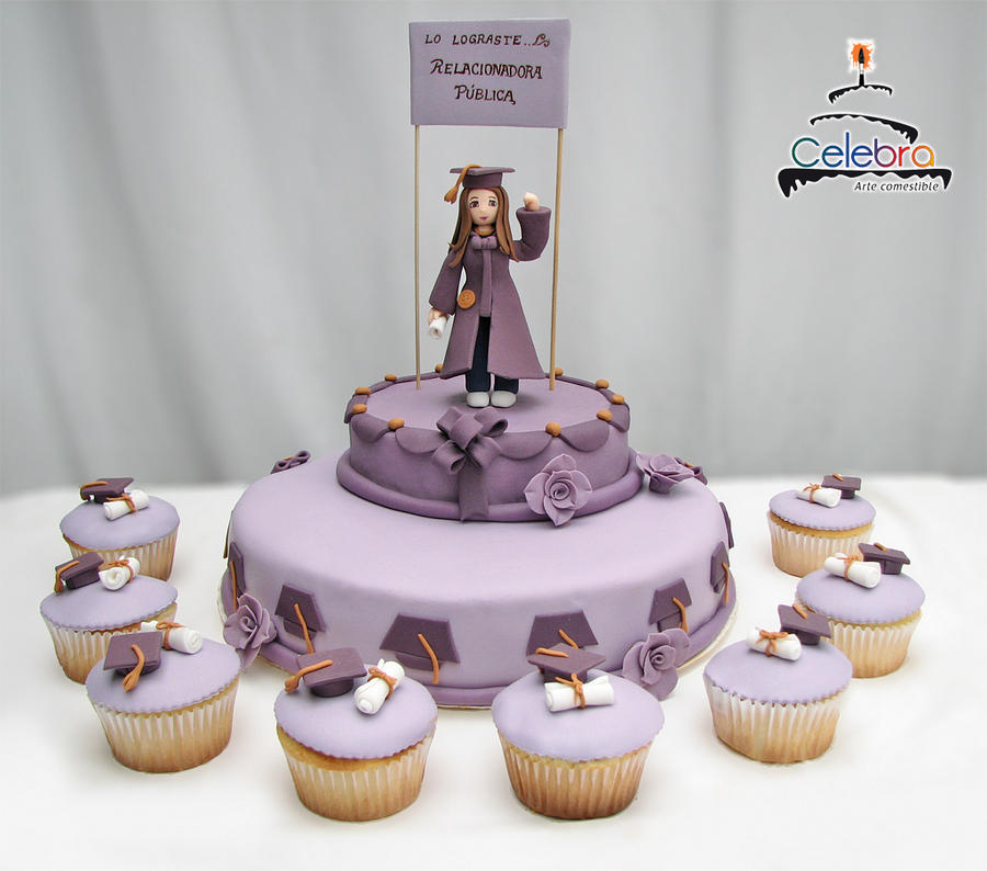 Graduation Cake by The-Nonexistent on DeviantArt