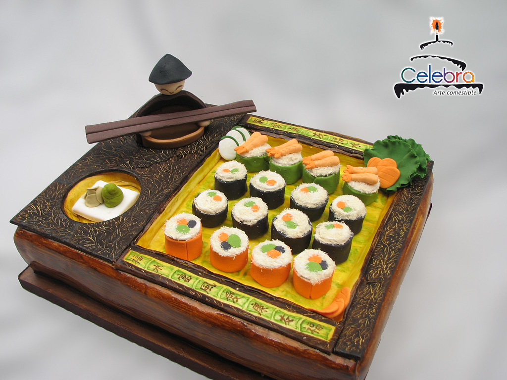 Sushi Cake by The-Nonexistent