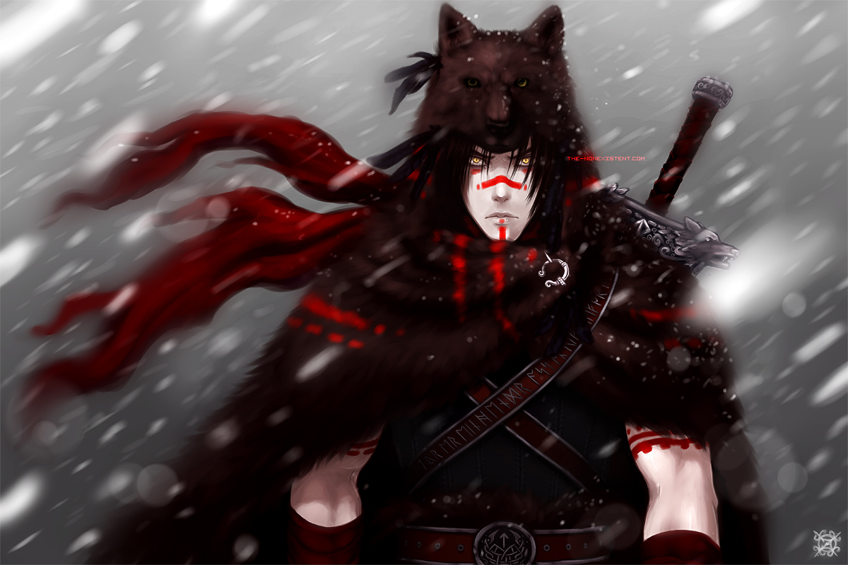 Wolf Warrior by The-Nonexistent
