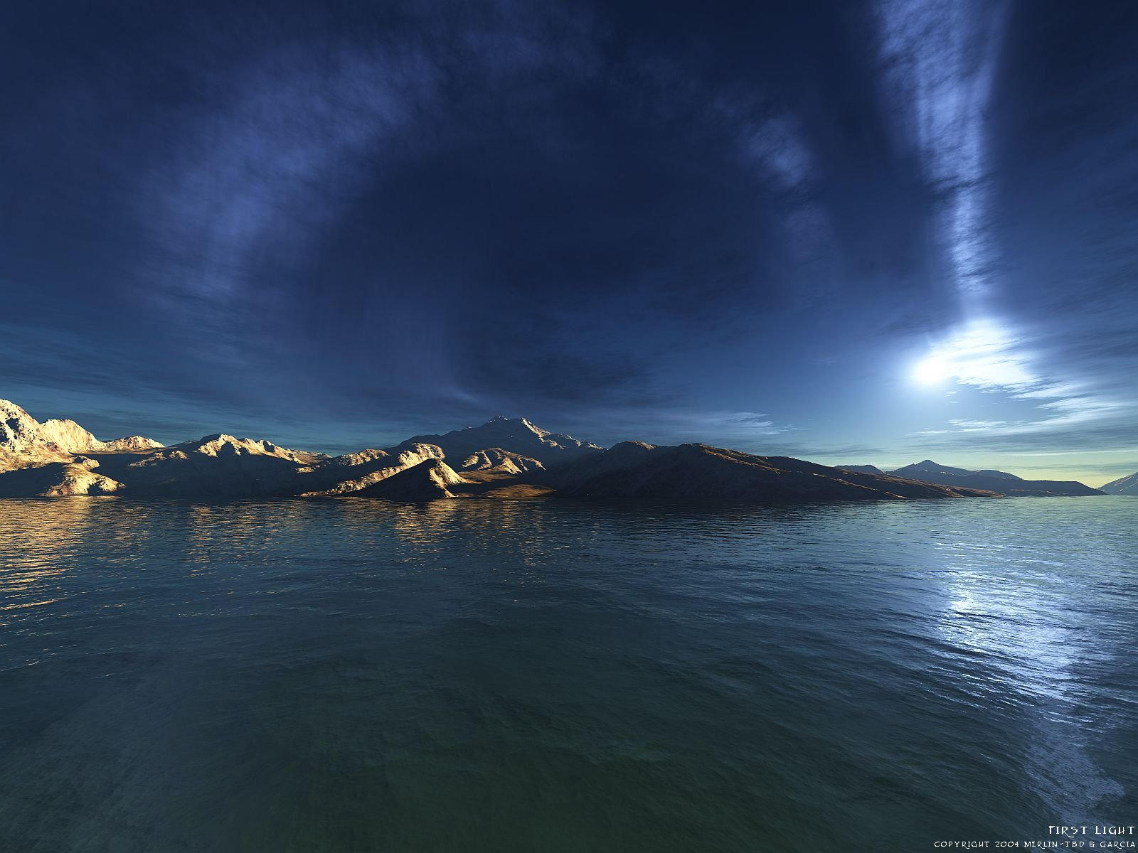 First Light by merlin-tbd