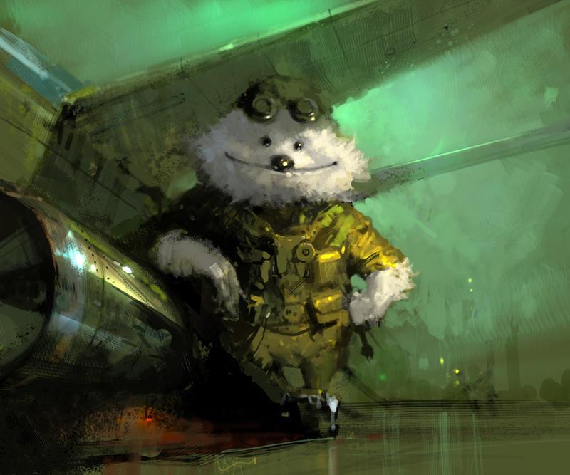 aviator by Hamsterfly