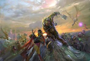 Final Battle by Hamsterfly