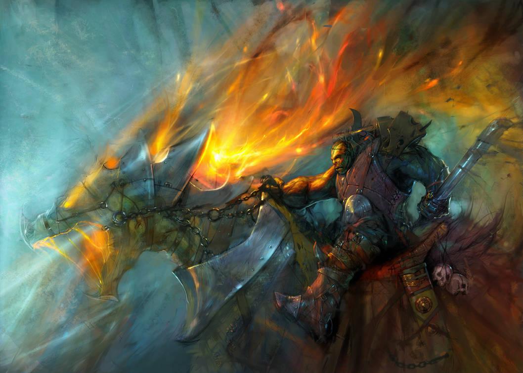 Fire Cavalry by Hamsterfly