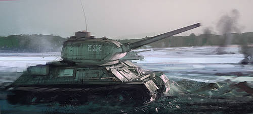 t34 by Hamsterfly