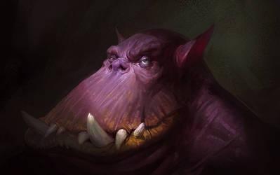 Portrait by Hamsterfly