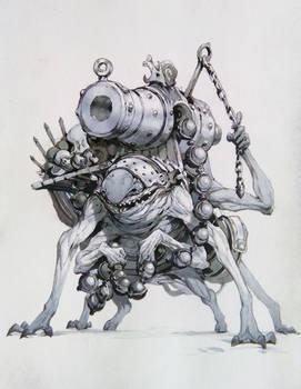 Speed cannon goblin