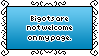 Bigots Are Not Welcome Stamp by AdaleighFaith