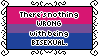 There's Nothing Wrong With Being Bisexual Stamp by AdaleighFaith