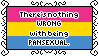 There's Nothing Wrong With Being Pansexual Stamp by AdaleighFaith