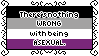There's Nothing Wrong With Being Asexual Stamp by AdaleighFaith