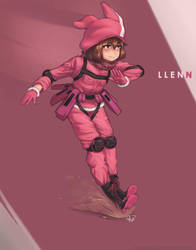 LLENN -SAO Alternative GGO- by Maarzkid