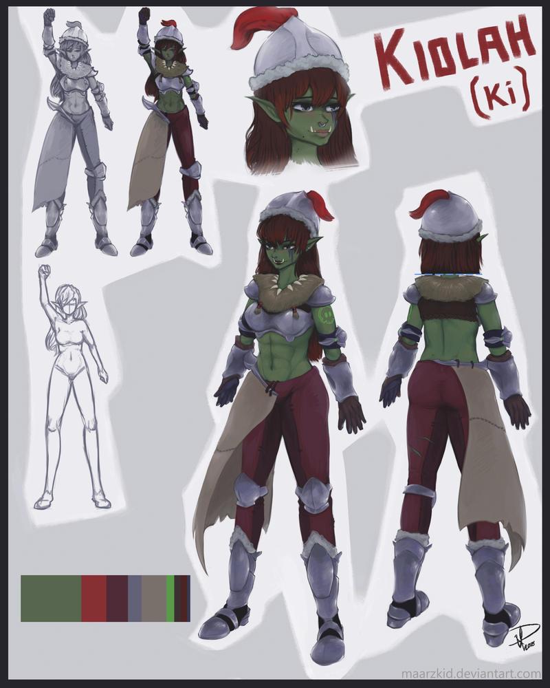 Kiolah (Concept Design) by Maarzkid