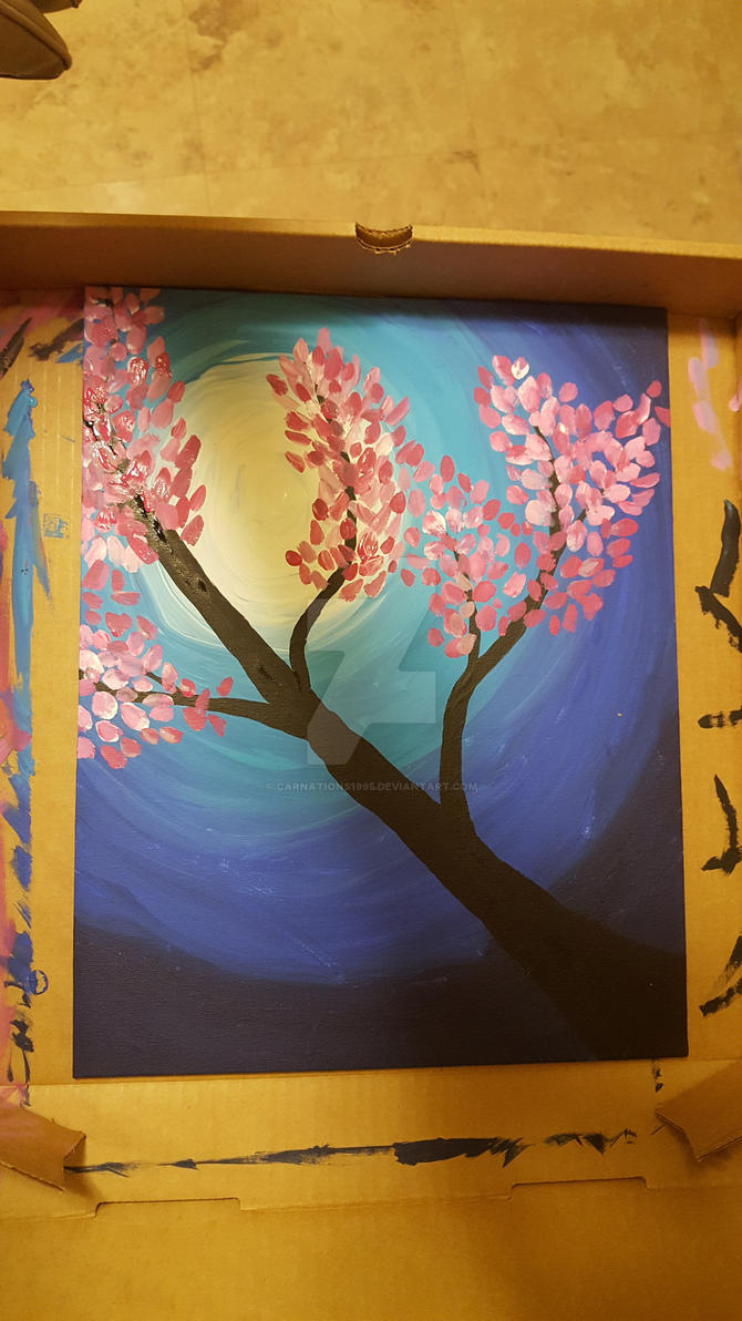 Blossom Tree by carnations1995
