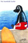 The Humboldt surfer penguin! by SAGADreams