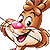 Nesquik Quicky Bunny Head (Icon)