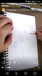 Watching my recent Speedrawing video! by SAGADreams