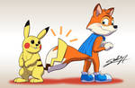Tails clap from new friends!