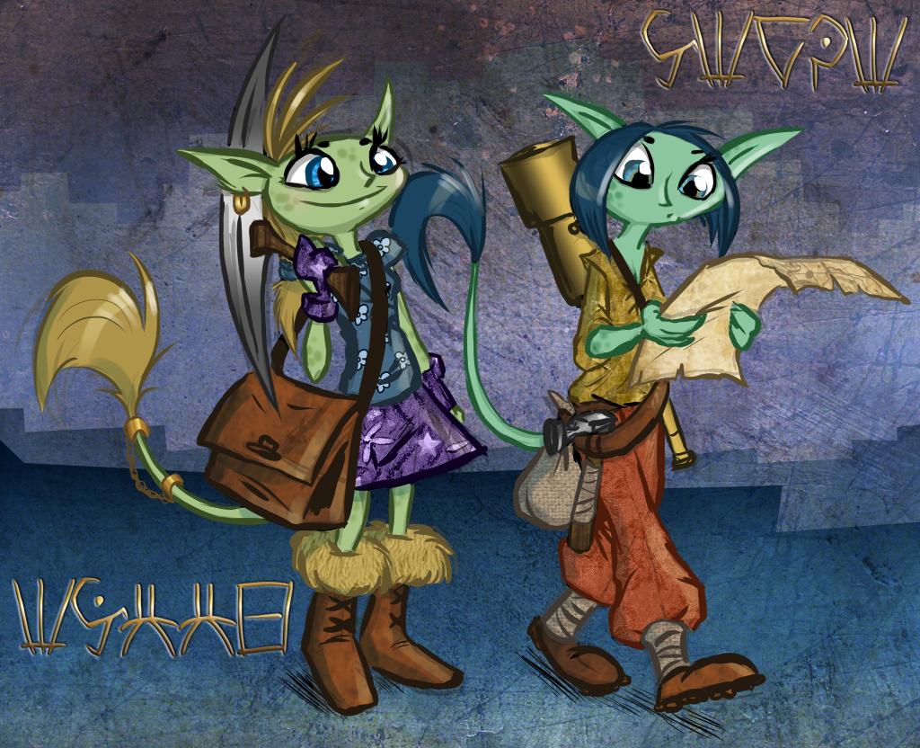 Gobbie Explorers by shani-hyena