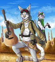 Guitar of Everest by shani-hyena