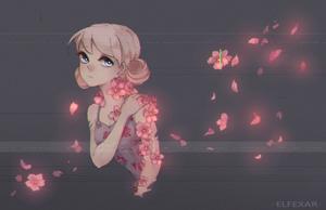 YCH: Hanahaki #2 by elfexar