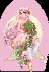 YCH: With plant #80 by elfexar