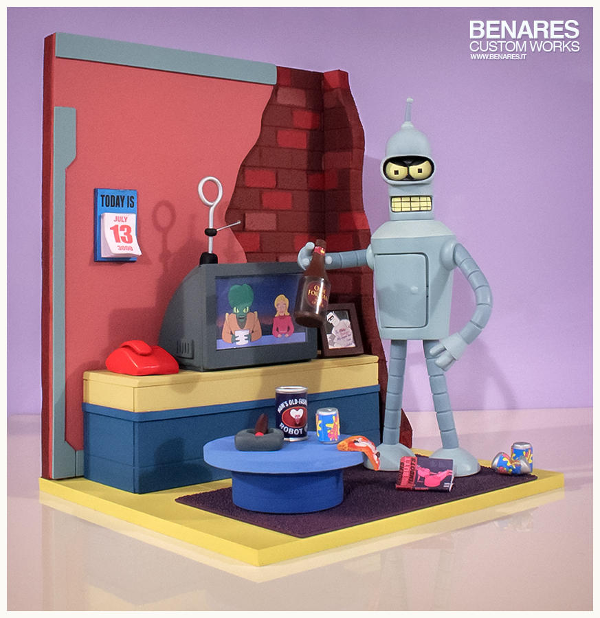 Futurama Bender Diorama