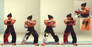SSFIV MOD: Jin Kazama