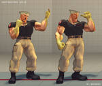 SSFIV MOD: Ghostbusters Guile