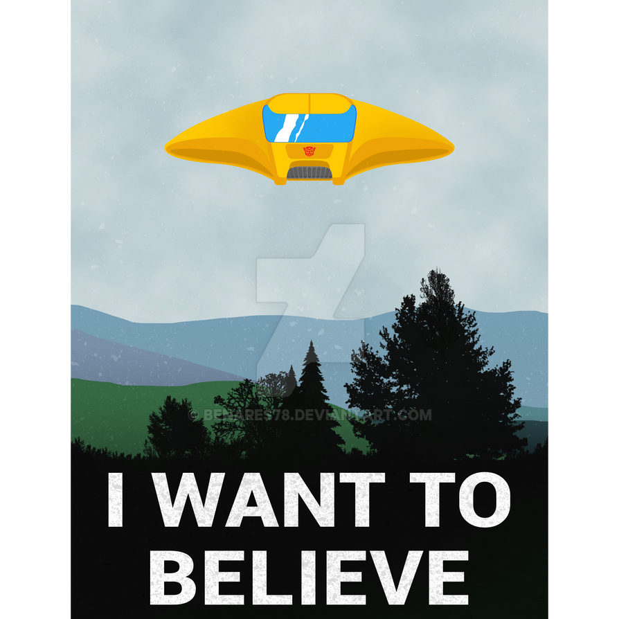 i want to bumble believe poster 50x70 cm by benares78 on. Black Bedroom Furniture Sets. Home Design Ideas