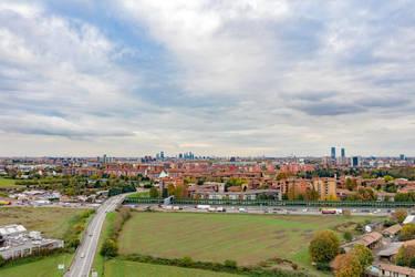 Milan from outside Milan by Benares78