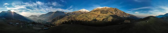 Panorama di Zambla Alta by Benares78