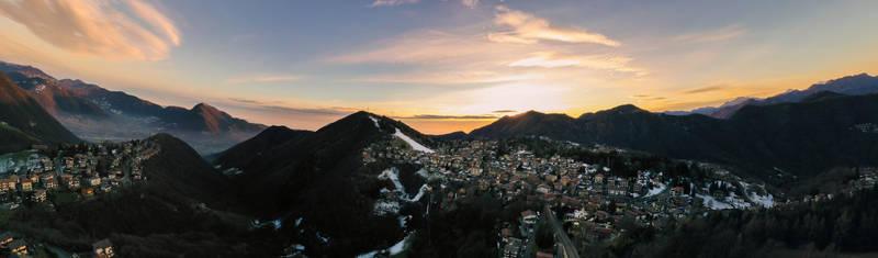Panorama di Selvino