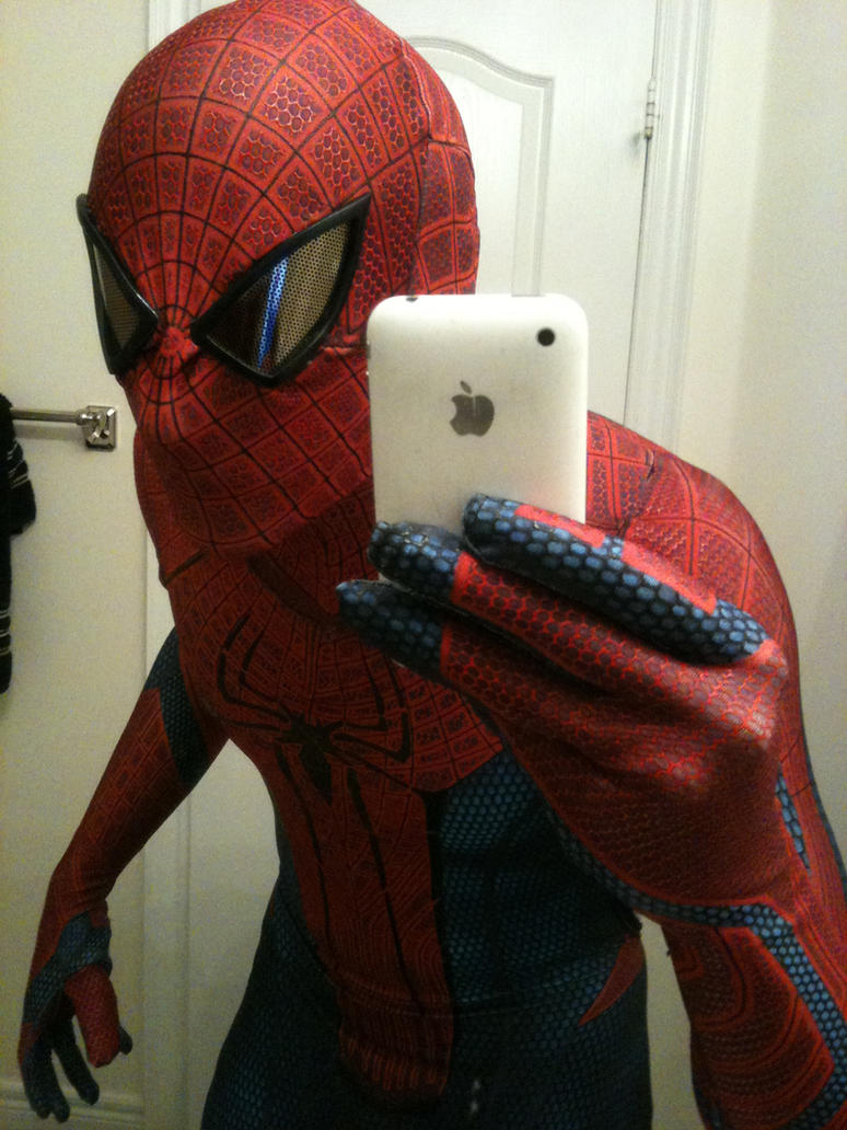 The Amazing Spider-man Suit Replica Costume by whiteRA on ...