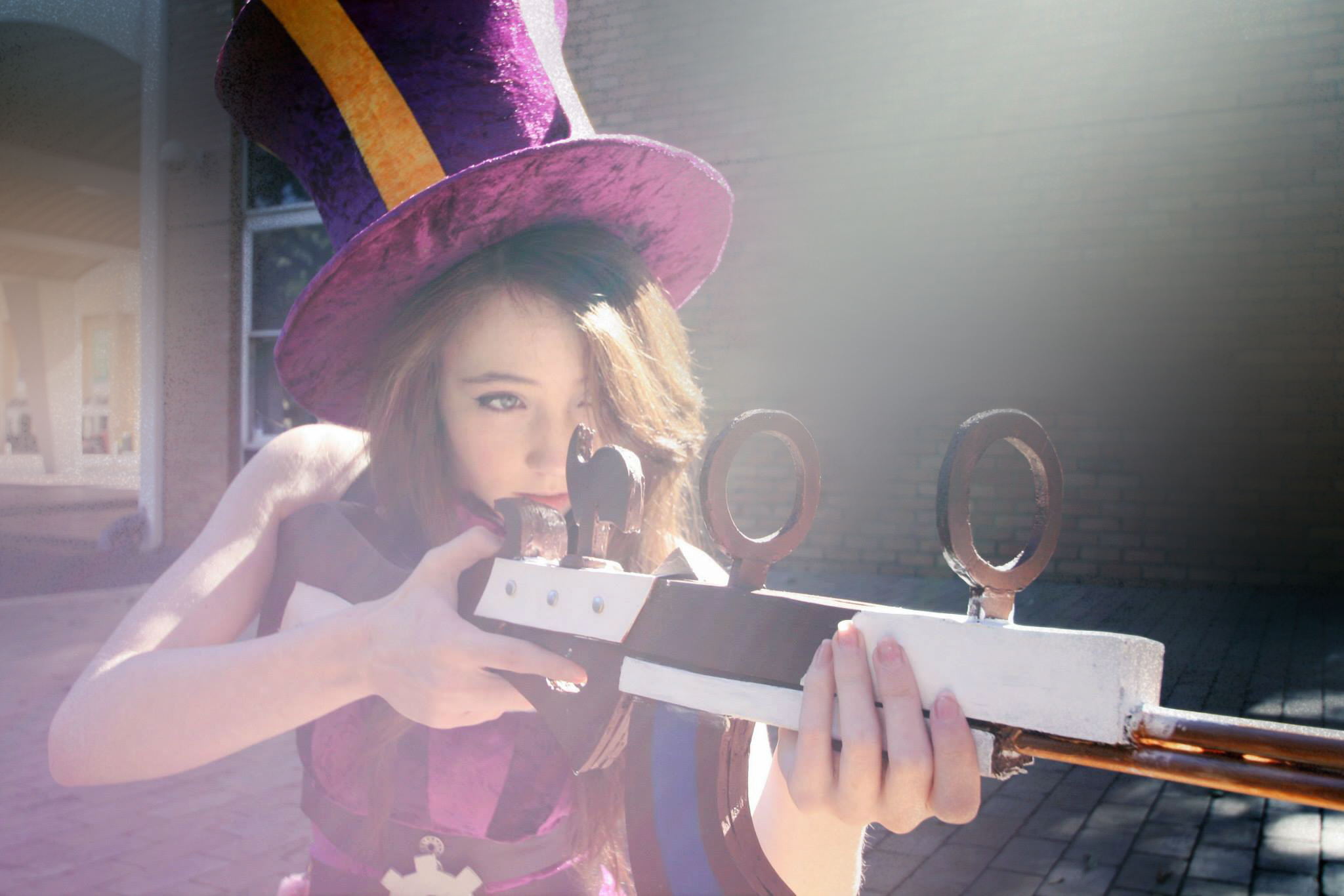 Caitlyn - League of legends Cosplay by Mistzy by Mistzy