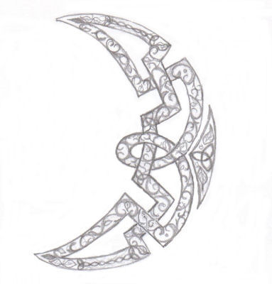 Celtic Moon by VioletSun on DeviantArt