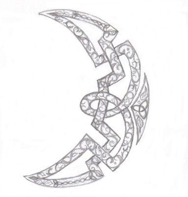 Celtic Moon by VioletSun on DeviantArt
