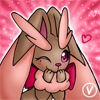 Lolli the Lopunny avatar by InukoPuppy